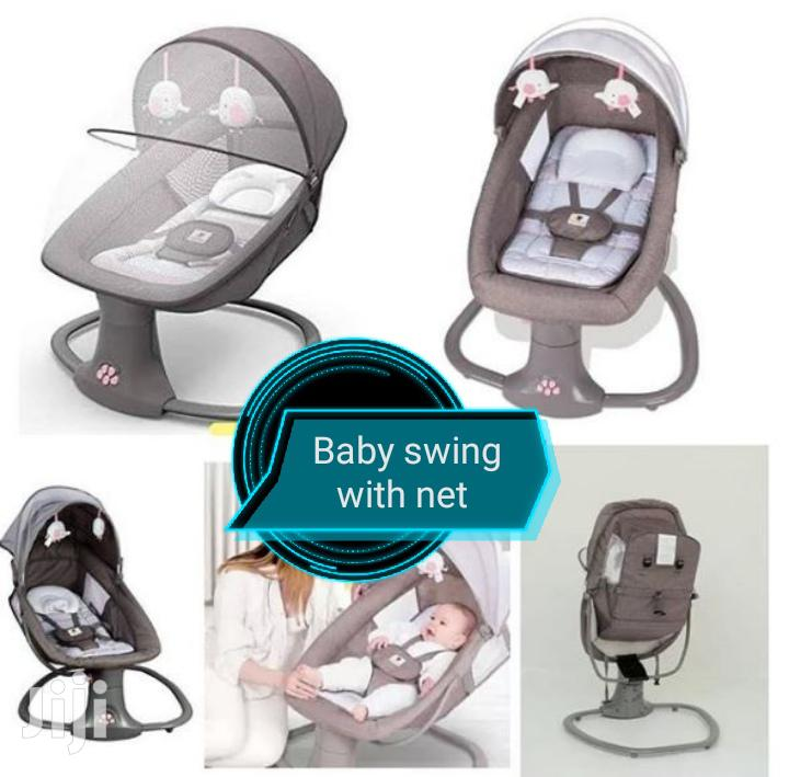 Baby Swing With Net And Music