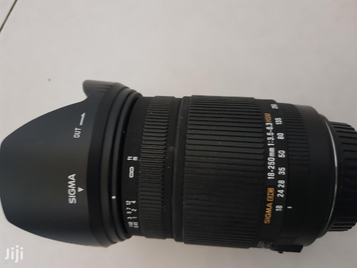 Sigma 18-250mm DC Hsm OS Lens | Accessories & Supplies for Electronics for sale in East Legon, Greater Accra, Ghana
