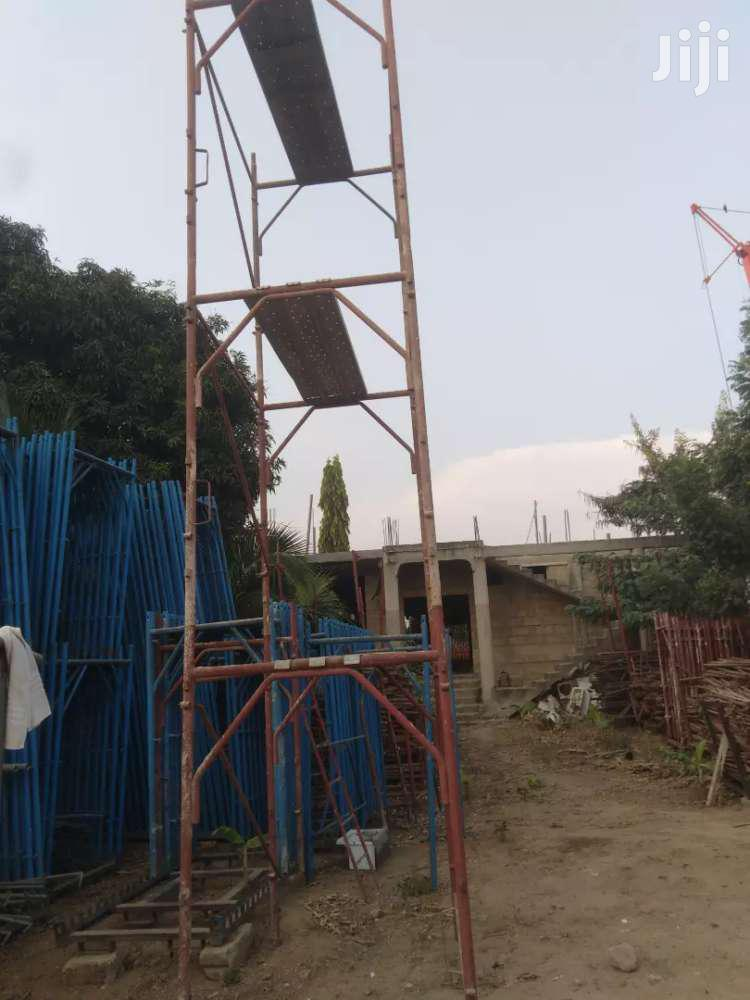 Decking Plate/Scaffold Italian/Plywood No/Woods No/Scaffolds/Props/   Other Repair & Construction Items for sale in Awutu-Senya, Central Region, Ghana
