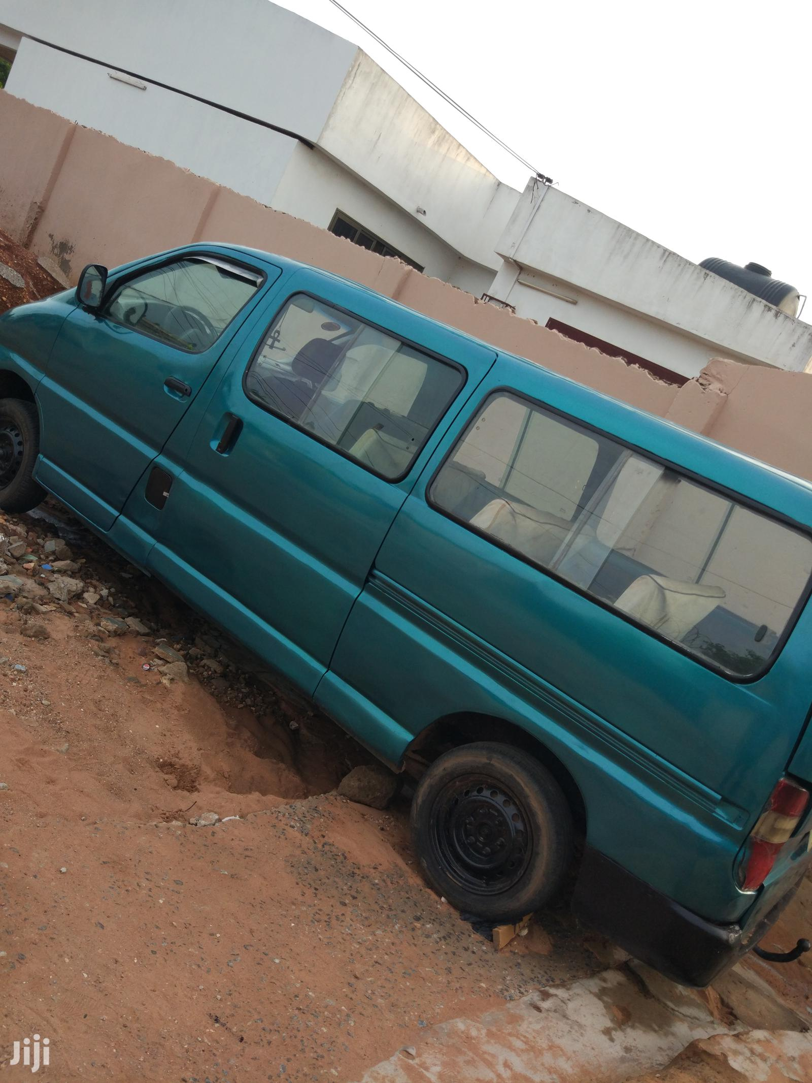 Archive: Toyota HiAce 2005 Green