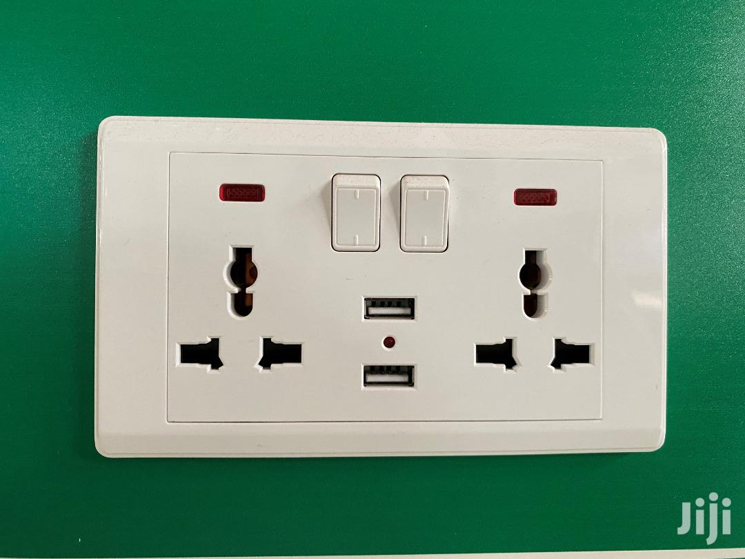 Archive: Universal Wall Socket With USB