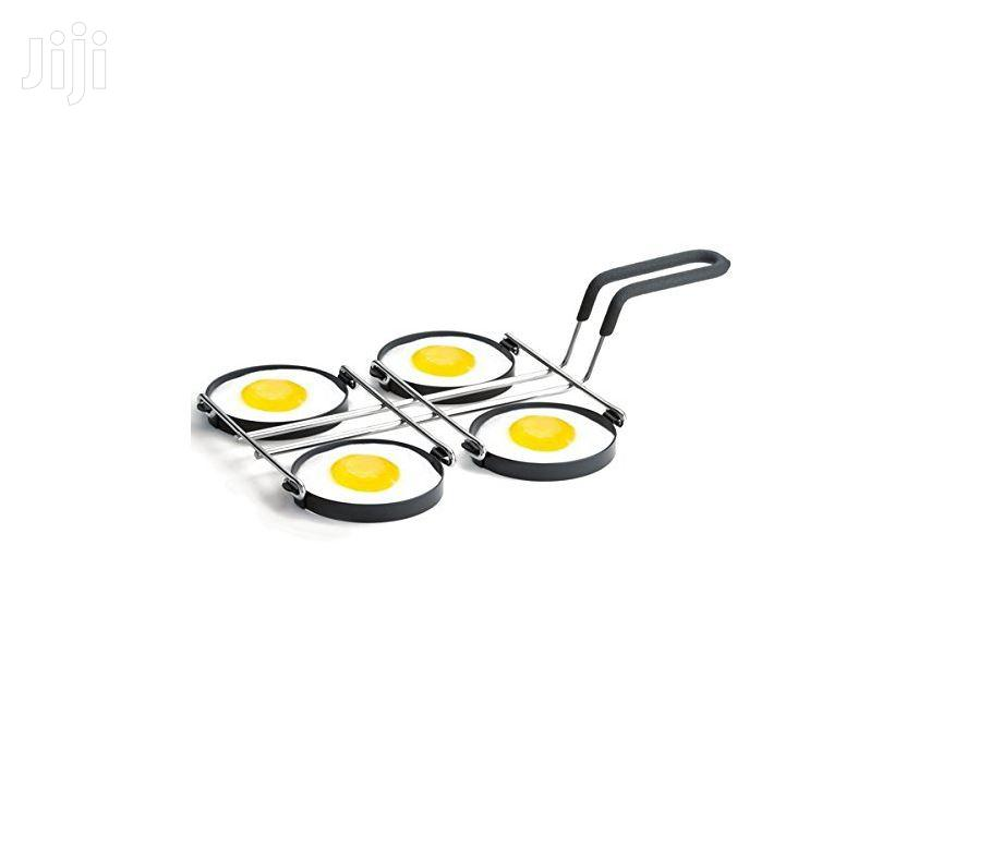 Tablecraft® 1240 Chrome Plated Non-stick 4-egg Ring