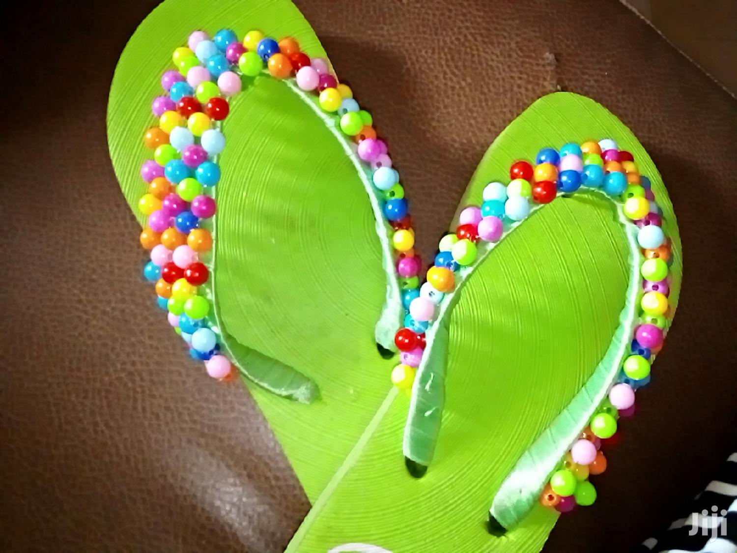 Gorgeous Beads Slippers