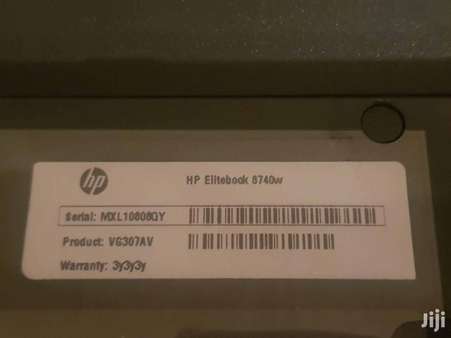Laptop HP EliteBook 8740W 8GB Intel Core i7 HDD 500GB   Laptops & Computers for sale in Adenta Municipal, Greater Accra, Ghana