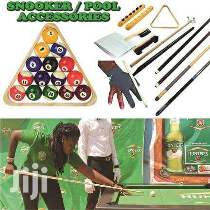 SNOOKER/POOL ACCESSORIES FOR SALE @100GHC