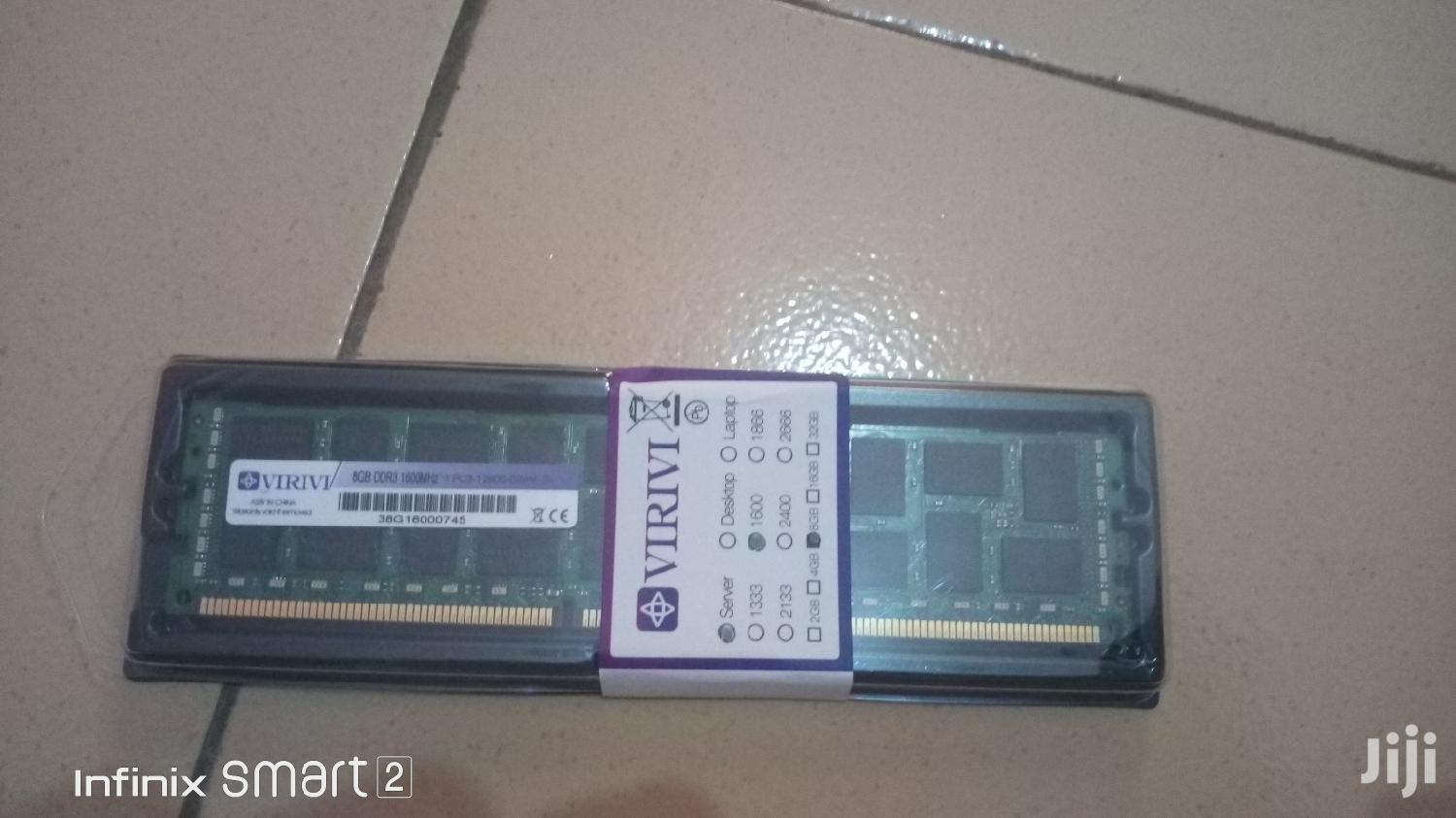Archive: 8gb DDR3 Server/Work Station Ram Available
