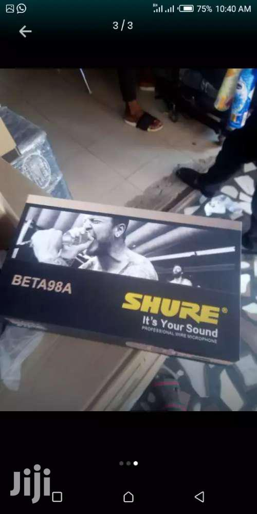 Shure Beta Corded Mic | Musical Instruments & Gear for sale in Dansoman, Greater Accra, Ghana