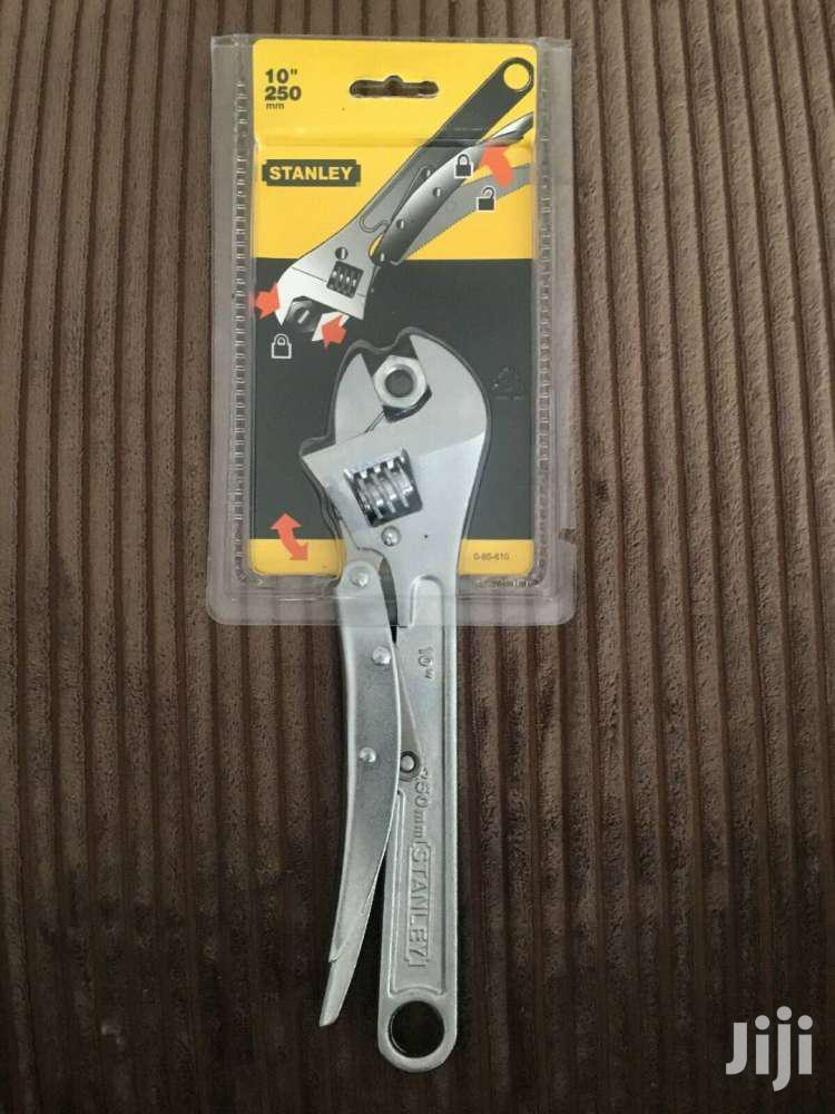 Stanley STA085610 Locking Adjustable Wrench 250mm (10in)