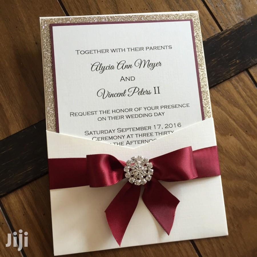 Wedding And Events Invitation Cards In Accra Metropolitan Printing Services Mcdanshop Mcdan Jiji Com Gh For Sale In Accra Metropolitan Mcdanshop Mcdan On Jiji Com Gh