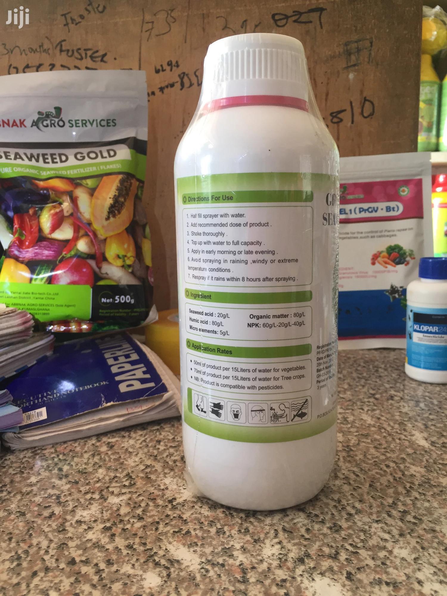Seaweed Organic Fertilizers//Gromore Organic Fertilizer