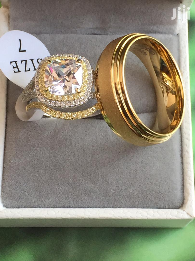 Quality 925 Sterling Silver Wedding Rings | Wedding Wear & Accessories for sale in Kumasi Metropolitan, Ashanti, Ghana