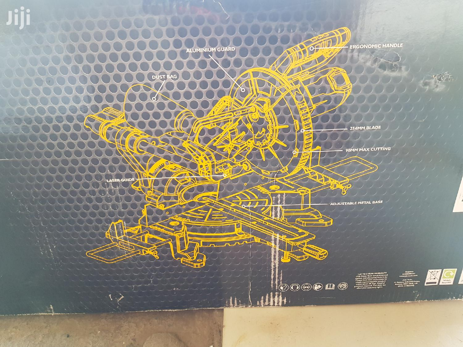 Jcb 254 Mm Sliding Bevel Mitre Saw | Hand Tools for sale in Adenta Municipal, Greater Accra, Ghana