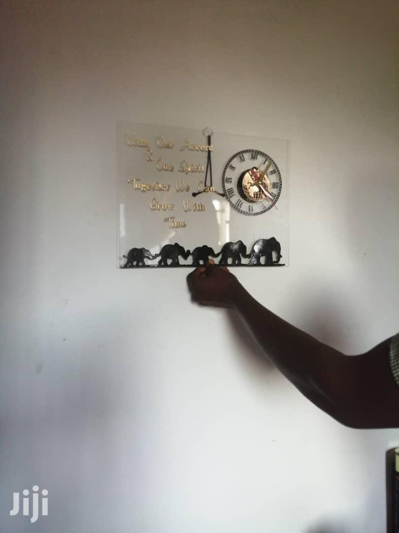 Wall Art With Clock