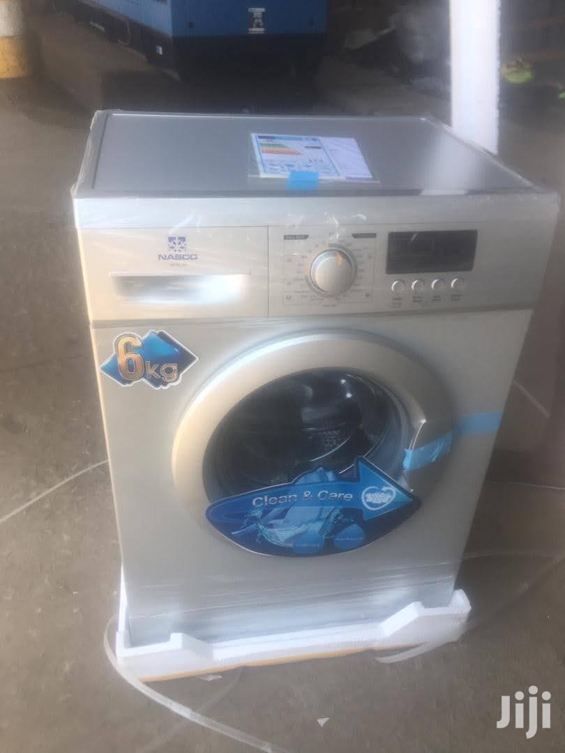 Durable New Nasco 6KG Front Load Washing Machine (MFSE-60)