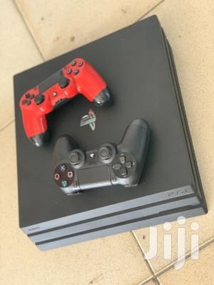 German Used PS4 PRO With Fifa 21 + 2 Controller | Video Game Consoles for sale in Greater Accra, Avenor Area