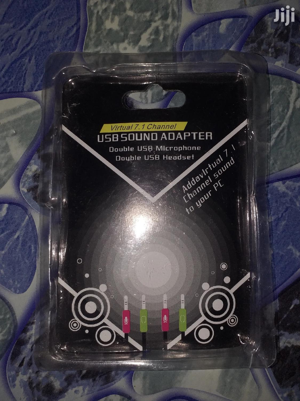 USB Pc Sound Card | Audio & Music Equipment for sale in Kumasi Metropolitan, Ashanti, Ghana