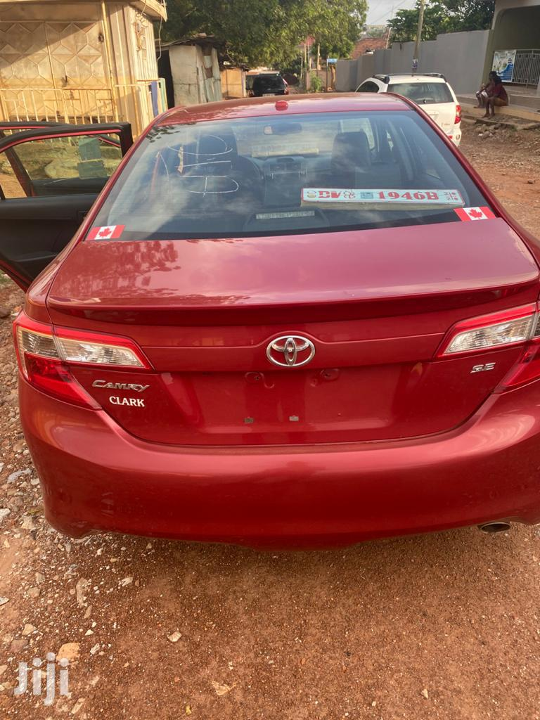 Toyota Camry 2014 Red | Cars for sale in Accra Metropolitan, Greater Accra, Ghana