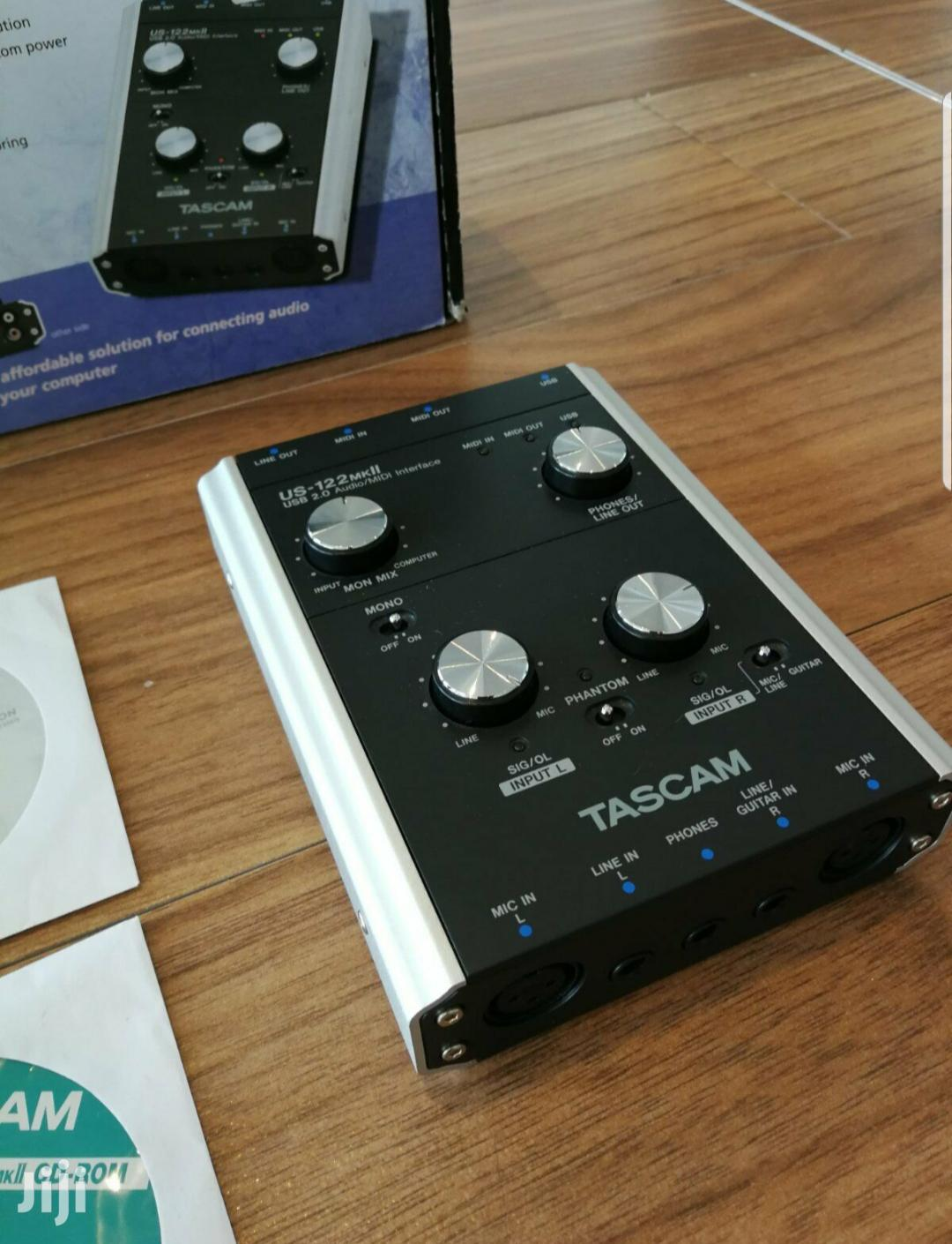 Tascam US-122 Mkll Soundcard