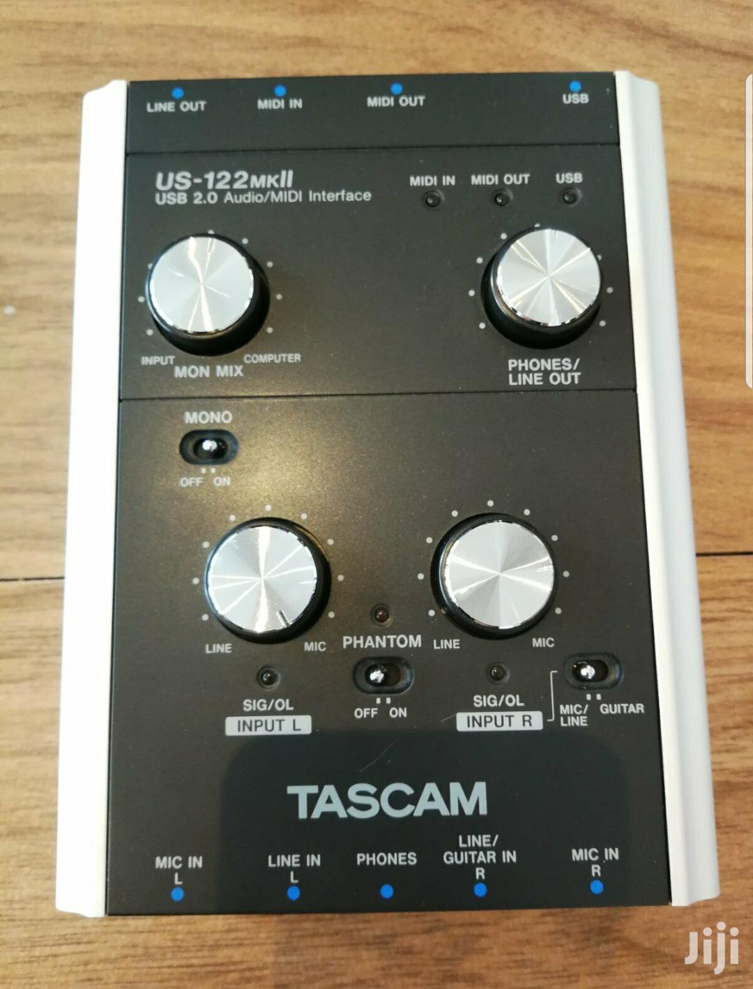 Tascam US-122 Mkll Soundcard   Audio & Music Equipment for sale in Alajo, Greater Accra, Ghana