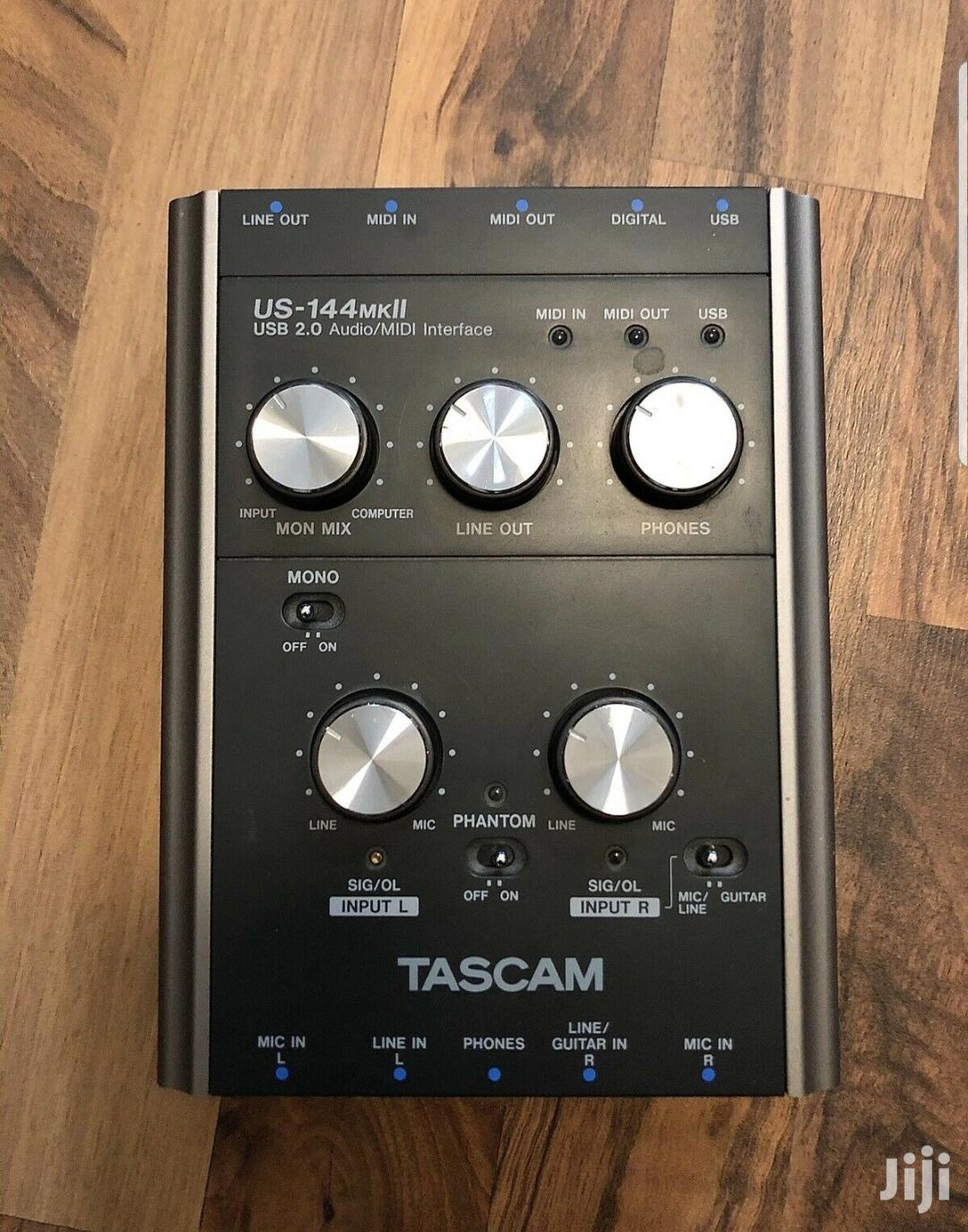 Tascam US-144 MKII Soundcard | Audio & Music Equipment for sale in Alajo, Greater Accra, Ghana