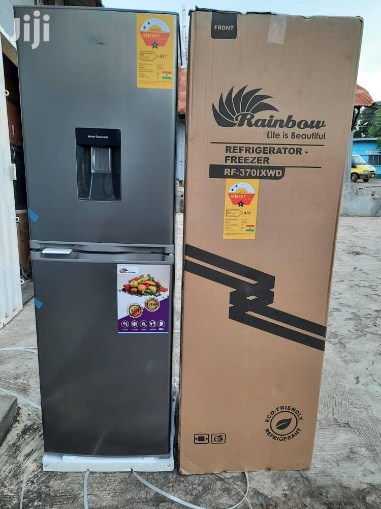 Rainbow 246ltr Fridge With Water Dispenser | Kitchen Appliances for sale in Accra Metropolitan, Greater Accra, Ghana