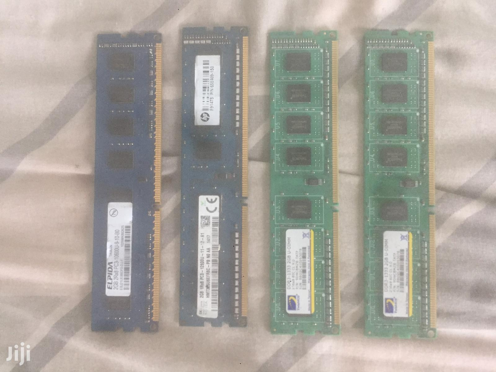 2GB DDR3 Desktop RAM Sticks For Sale | Computer Hardware for sale in Adenta Municipal, Greater Accra, Ghana