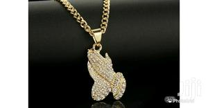 The Praying Hand Pendants And Necklaces Gift Gold Color | Jewelry for sale in Greater Accra, Ga West Municipal