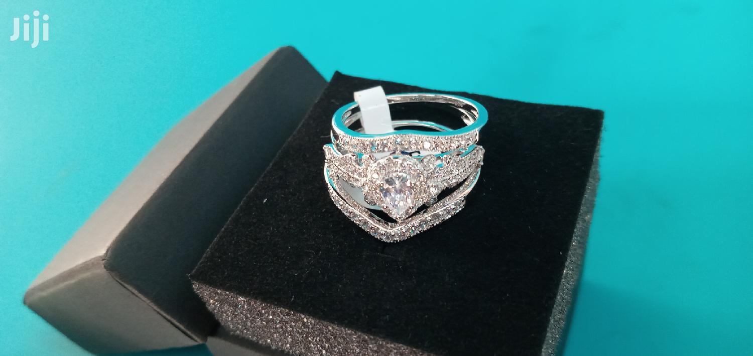 Quality Engagement And Wedding Rings Set