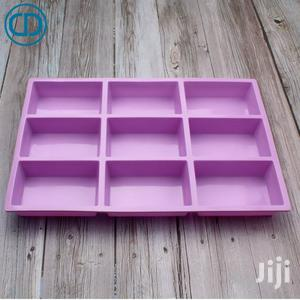 9 Cavities Rectangle Soap Moulds   Manufacturing Materials for sale in Greater Accra, Ga South Municipal
