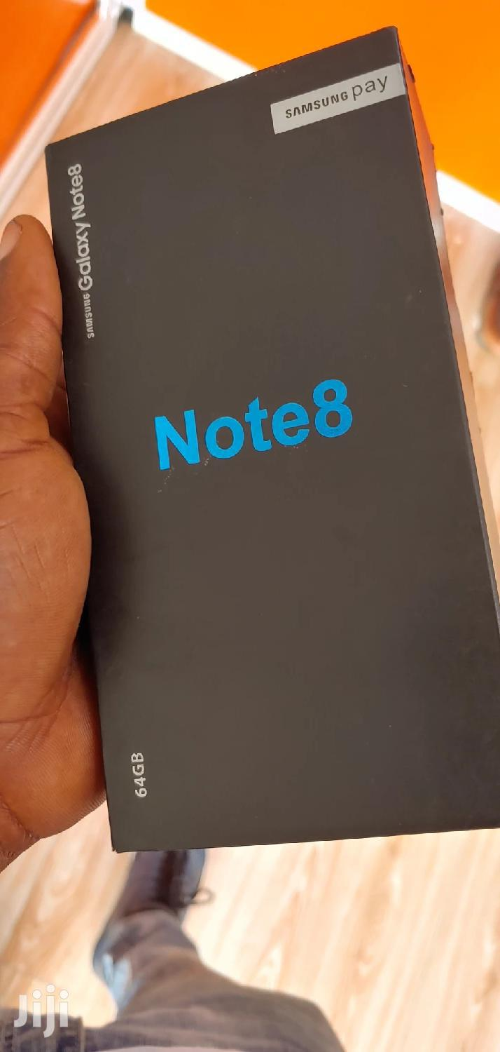 New Samsung Galaxy Note 8 64 GB Black