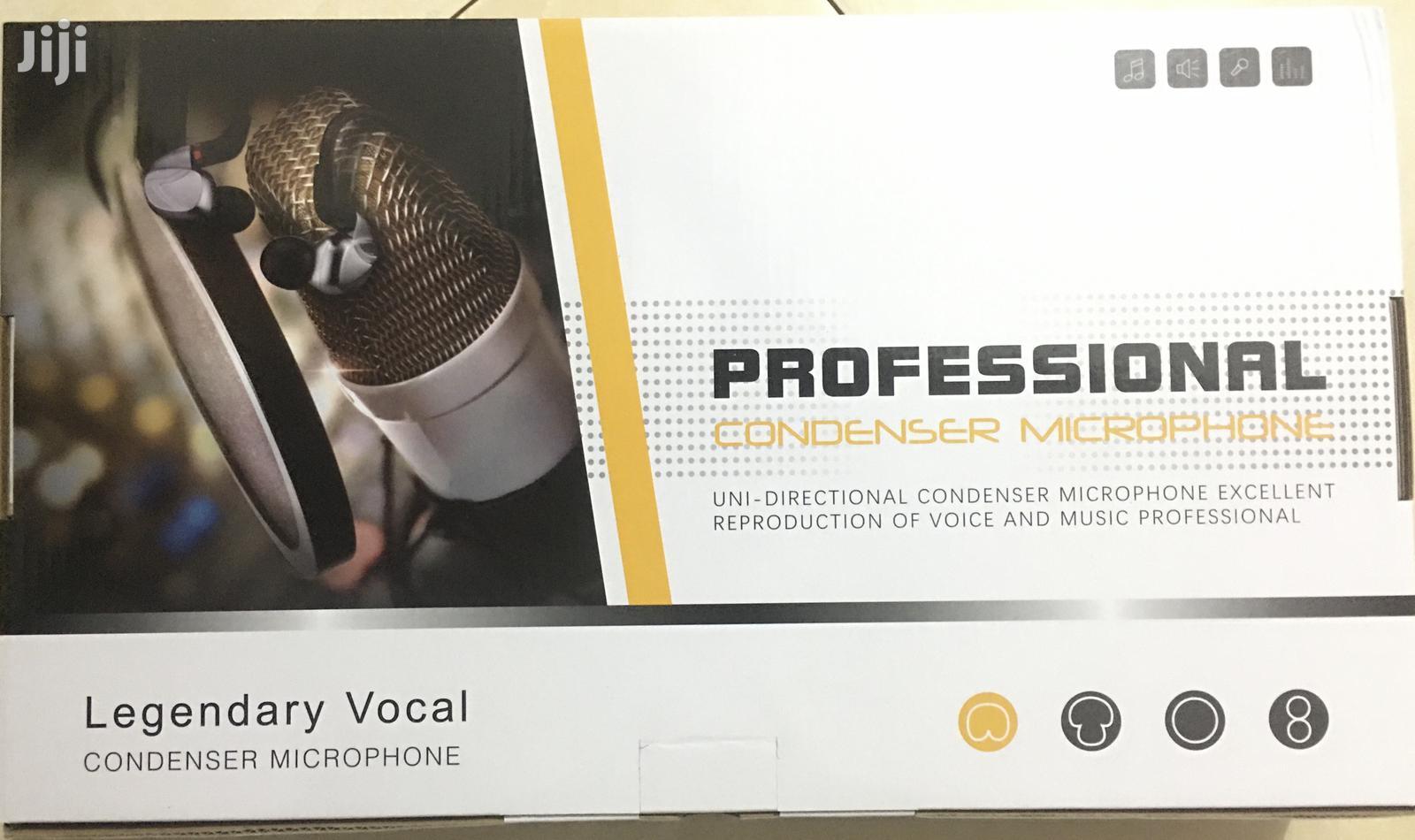 Pro Condenser Microphone For Recording, Studio, Broadcasting | Audio & Music Equipment for sale in Accra Metropolitan, Greater Accra, Ghana
