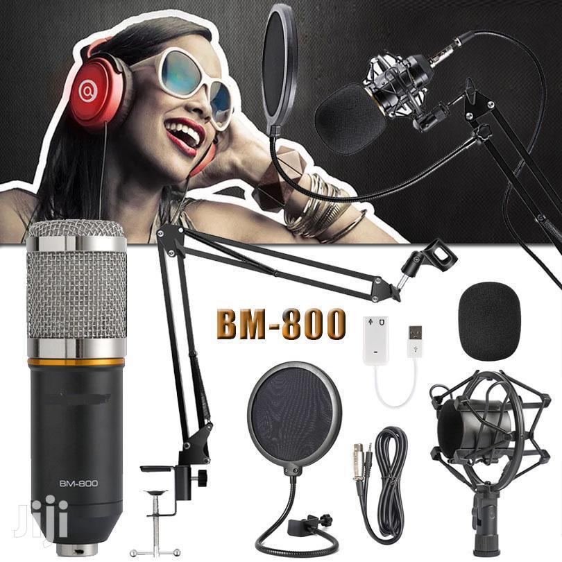 Pro Condenser Microphone For Recording, Studio, Broadcasting