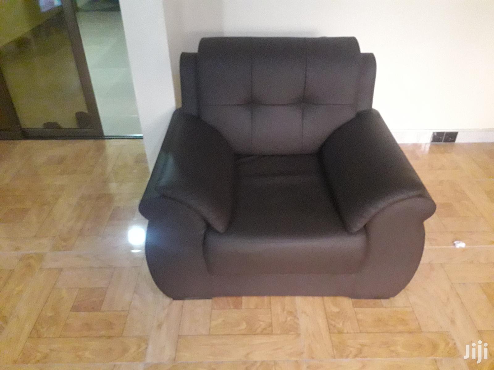 Archive: 3 Set Leather Sofa