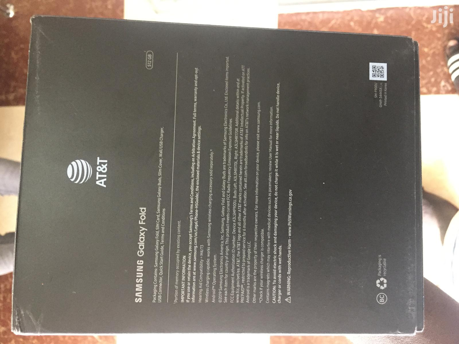 New Samsung Galaxy Fold 512GB Black | Mobile Phones for sale in Kokomlemle, Greater Accra, Ghana