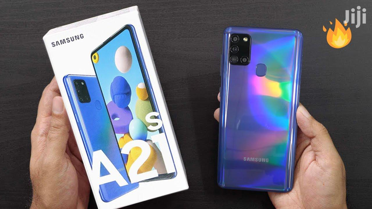 Archive: New Samsung Galaxy A21s 64 GB Blue