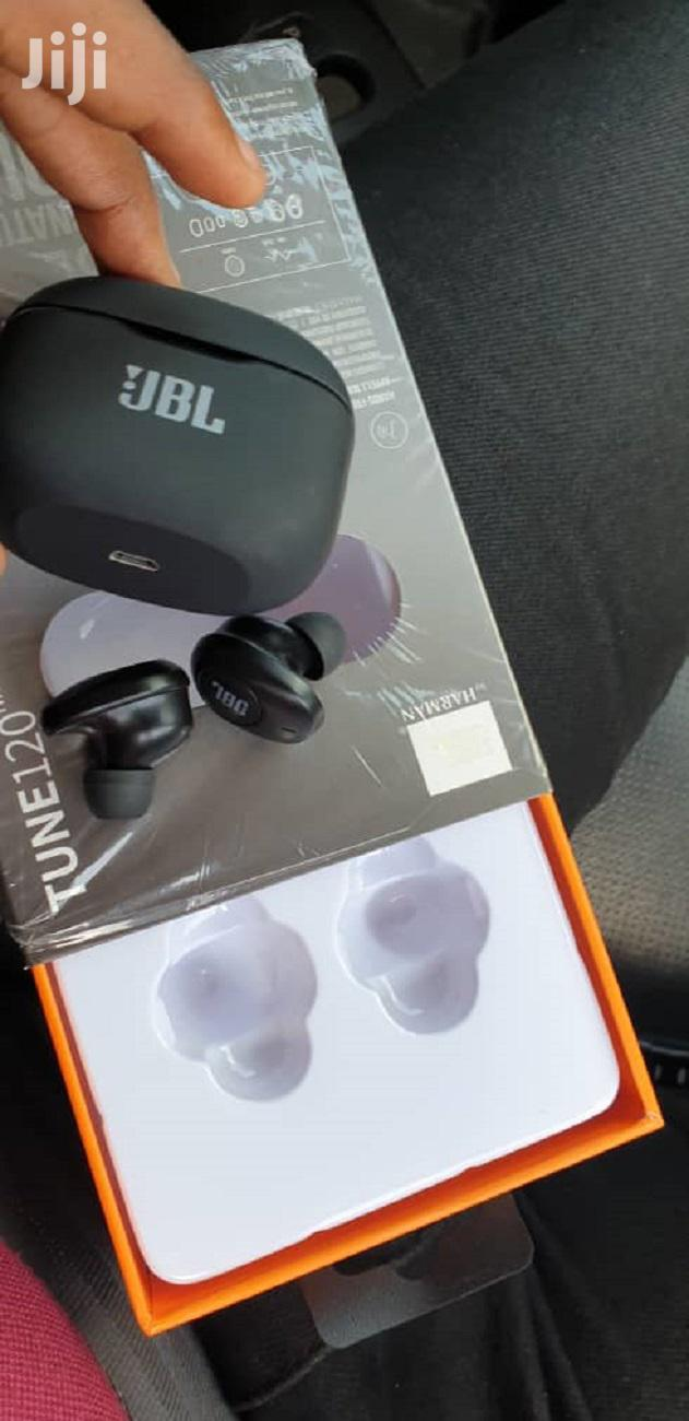 JBL TUNE120 TWS Pure Bass Bluetooth Wireless Earbuds + Charg | Headphones for sale in Tema Metropolitan, Greater Accra, Ghana