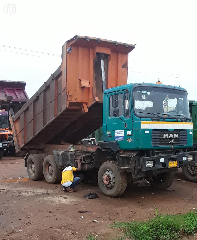 Archive: Man Diesel Tipper Truck
