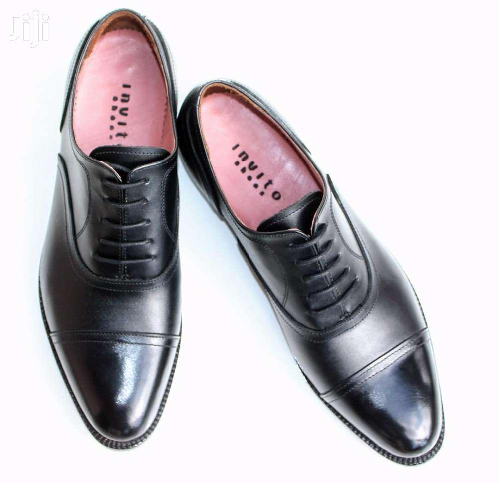 Oxford Cap Toe Mens Shoes