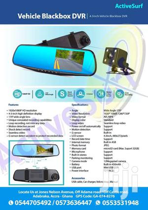 Reverse Camera Vehicle Black Box
