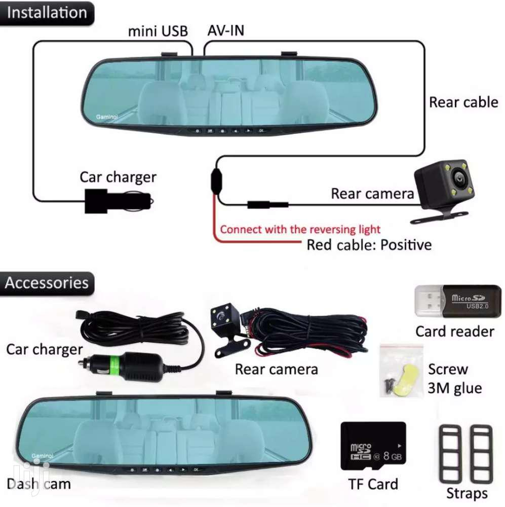 Reverse Camera Vehicle Black Box | Vehicle Parts & Accessories for sale in Accra Metropolitan, Greater Accra, Ghana