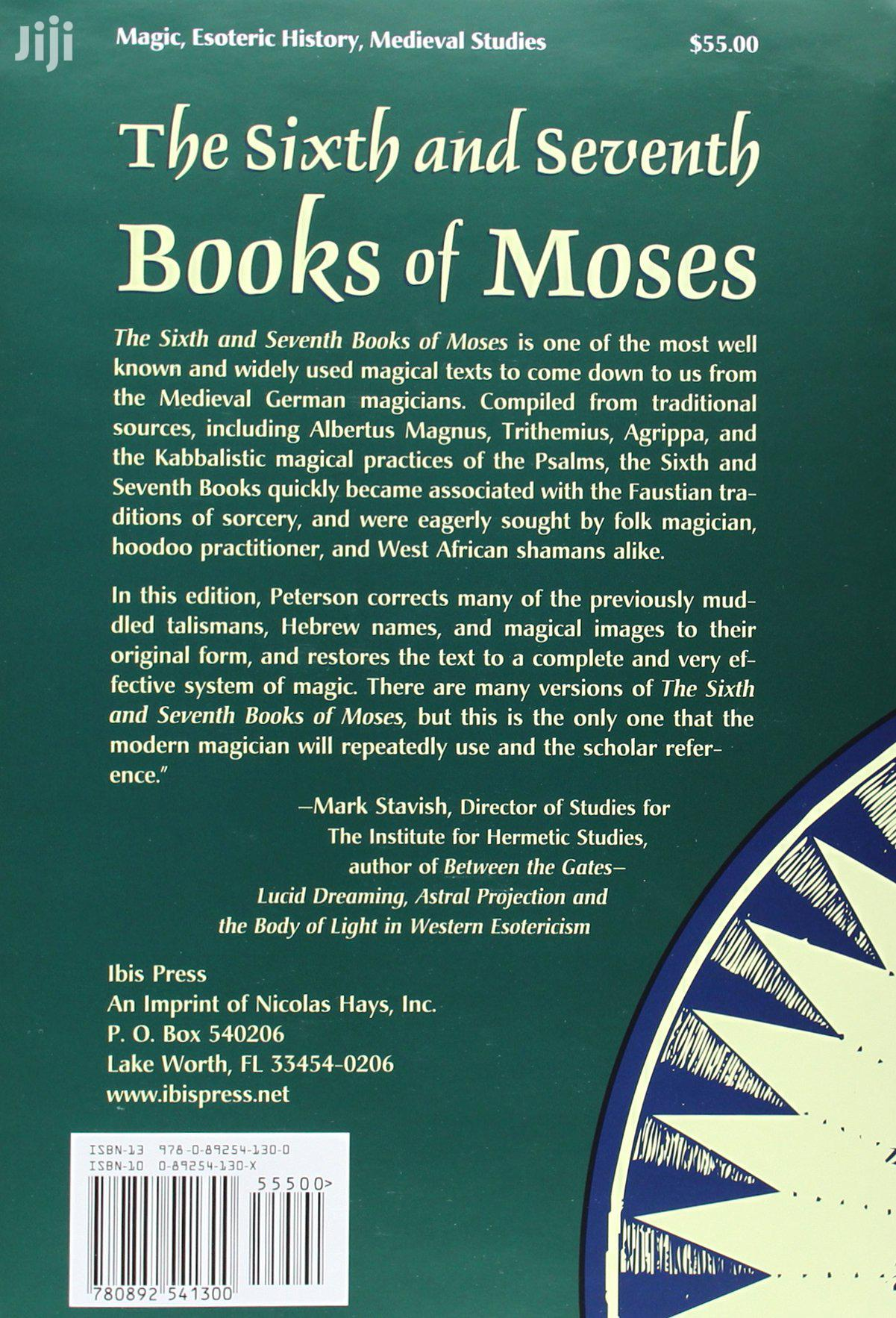 The Sixth and Seventh Books of Moses Ebook(Softcopy) | Books & Games for sale in Accra Metropolitan, Greater Accra, Ghana