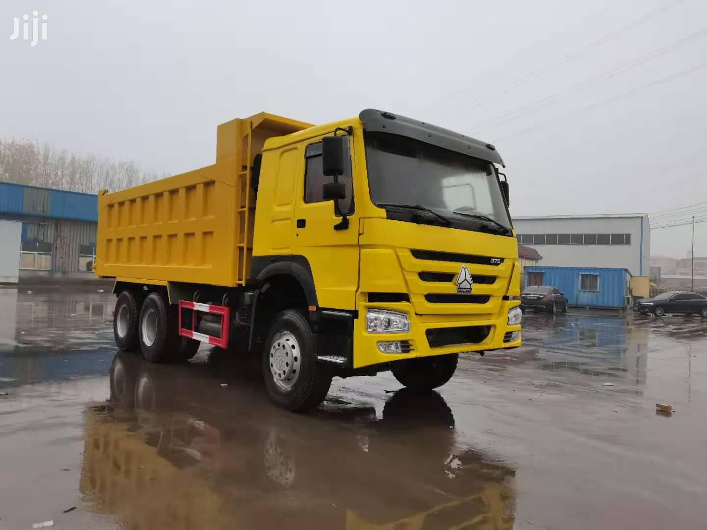 Archive: Unregistered Home Used Howo 375 Tipper Truck 20 Cubic