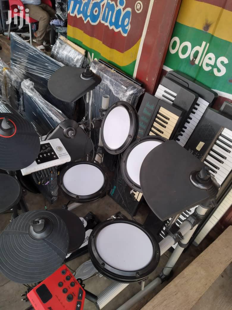 Electric Drum- Rocktronix White | Musical Instruments & Gear for sale in Adenta Municipal, Greater Accra, Ghana