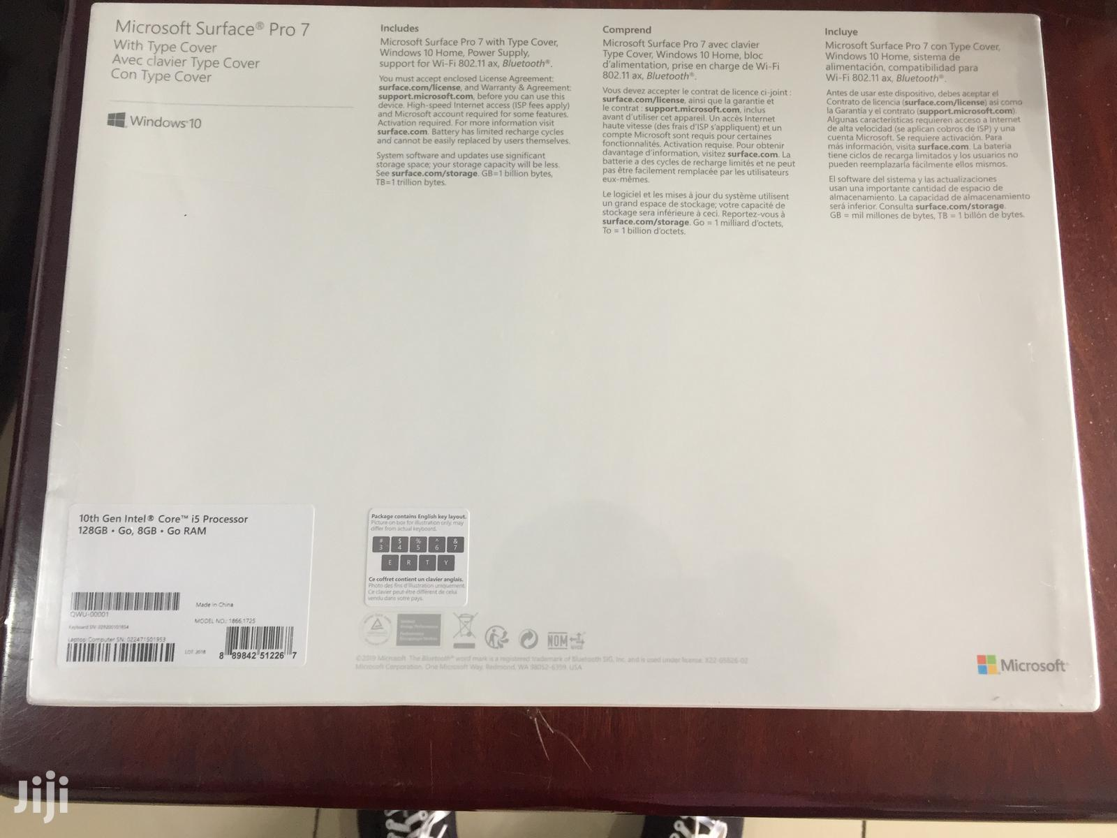 New Microsoft Surface Pro 128 GB Black   Tablets for sale in Kokomlemle, Greater Accra, Ghana