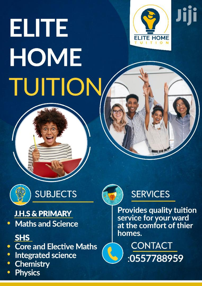Affordable Home Tuition | Classes & Courses for sale in Tema Metropolitan, Greater Accra, Ghana