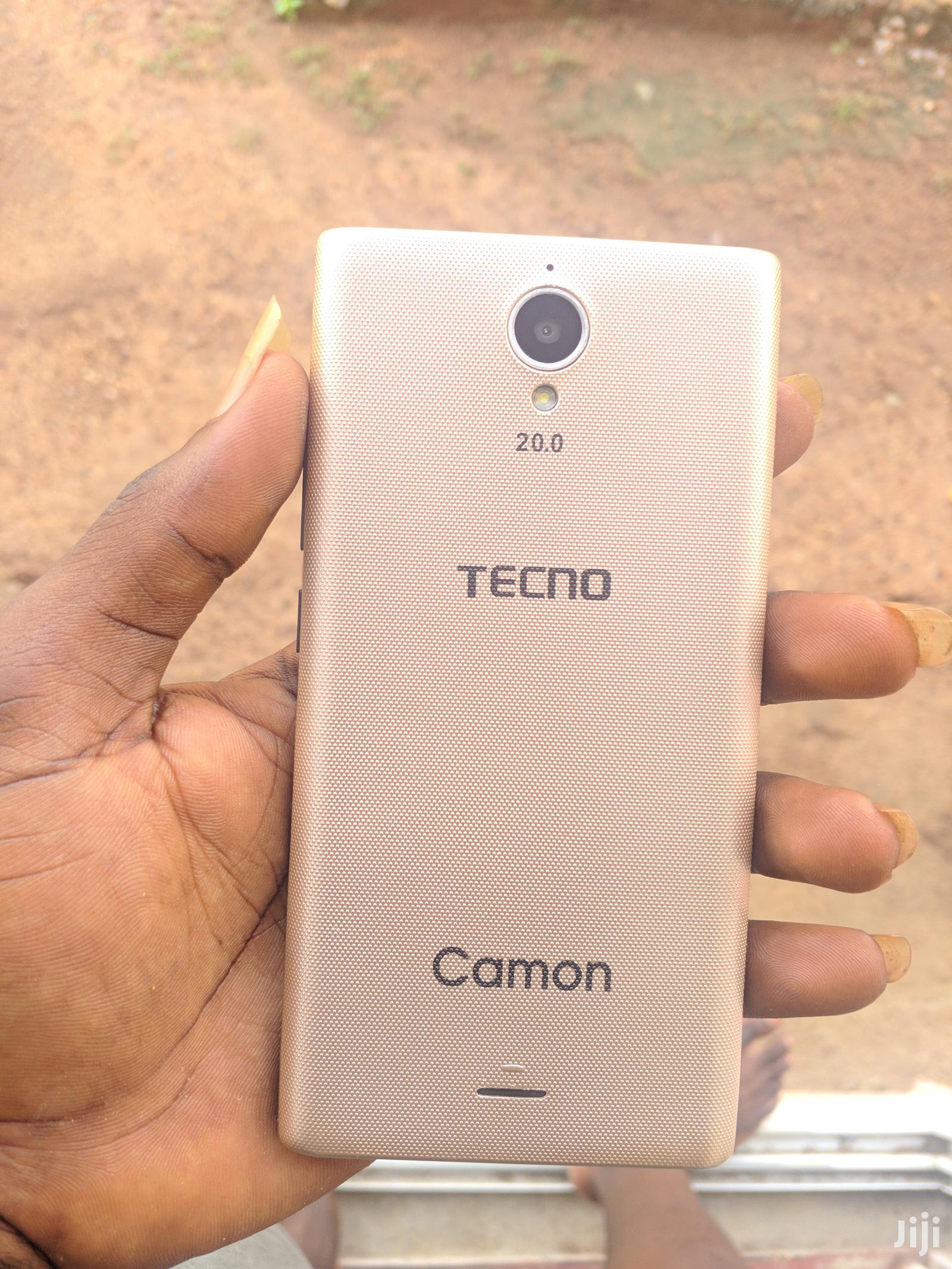 New Tecno A7 32 GB Gold   Mobile Phones for sale in Ga East Municipal, Greater Accra, Ghana