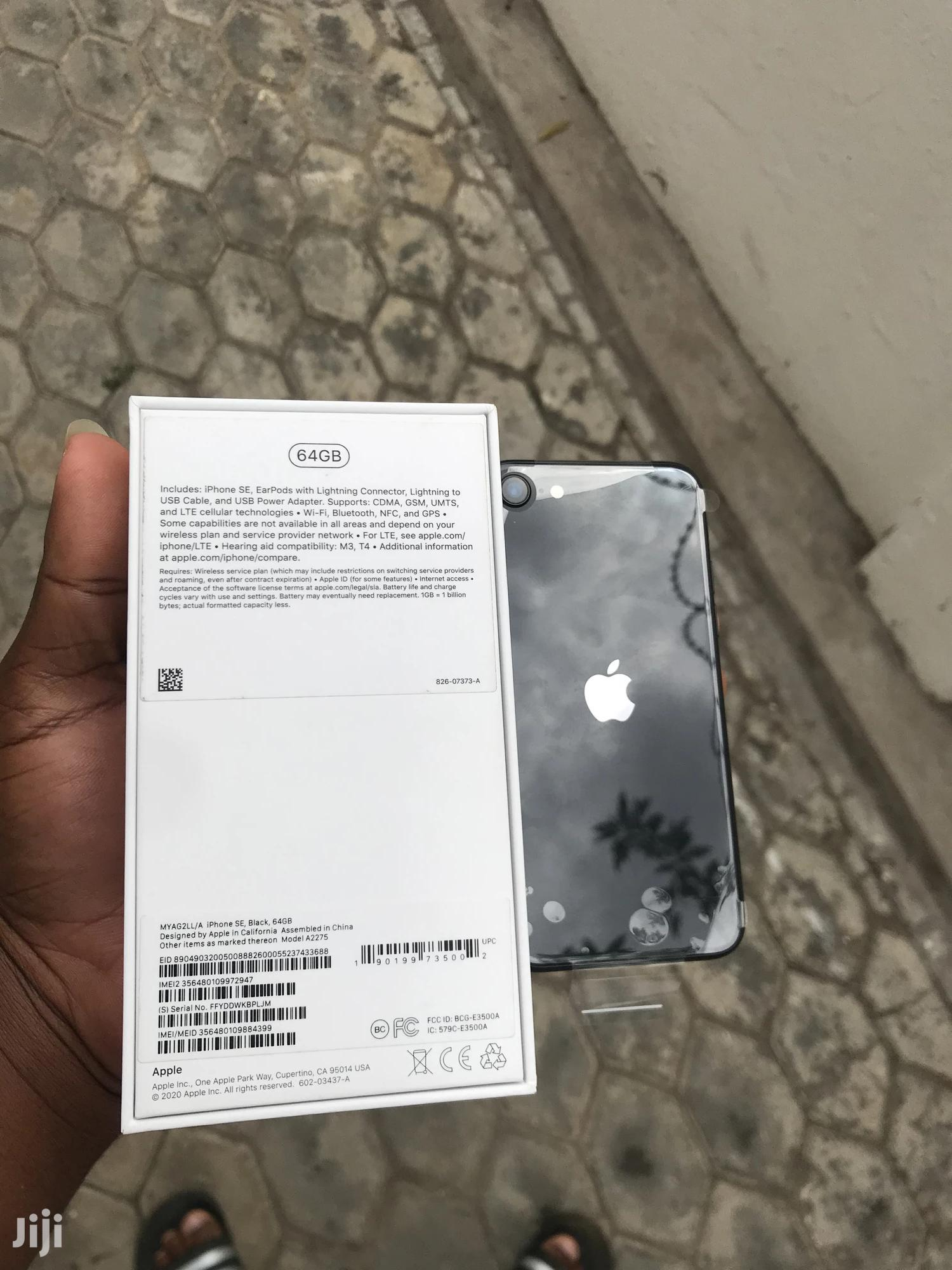 New Apple iPhone SE (2020) 64 GB Gray | Mobile Phones for sale in Dansoman, Greater Accra, Ghana