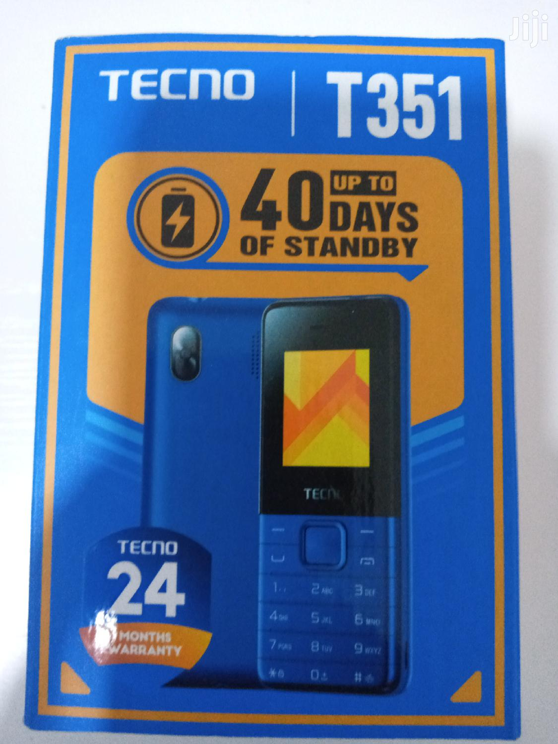 New Tecno T350 Gold