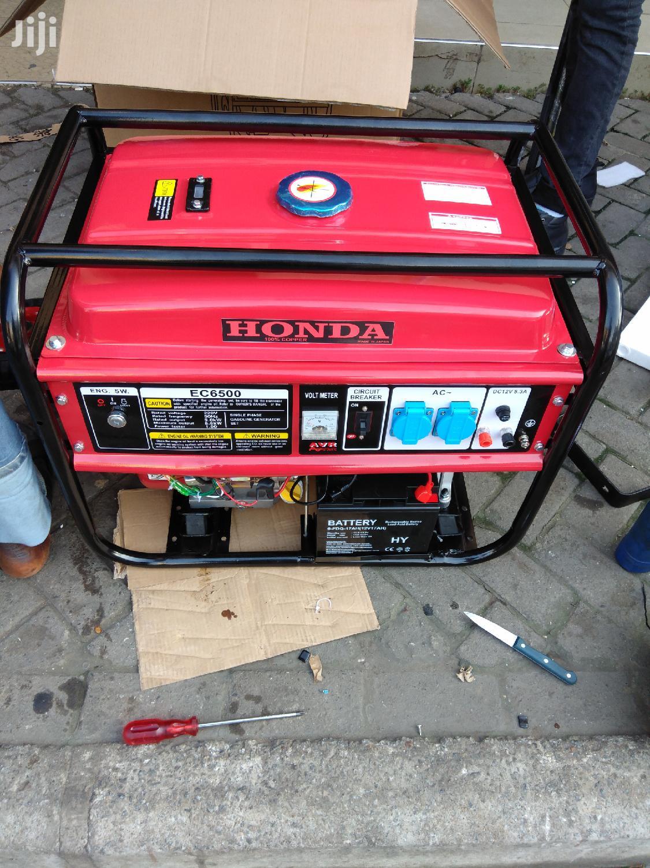 Honda Generator 13hp ..5.5 Kva