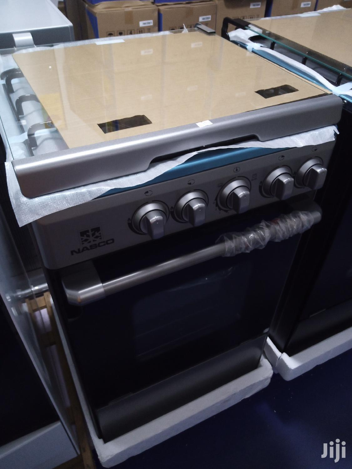 Nasco 4 Burner Gas Cooker With Oven and Grill